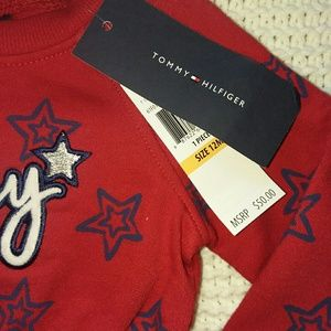 Tommy Hilfiger Dresses - Tommy Hilfiger 12m sweater dress and diaper cover
